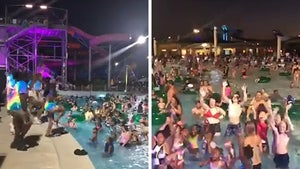 Houston-Area Water Park Under Fire for No Distancing, Packed Pools