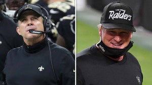 NFL Hits Jon Gruden, Sean Payton With $100K Fines Over COVID Masks