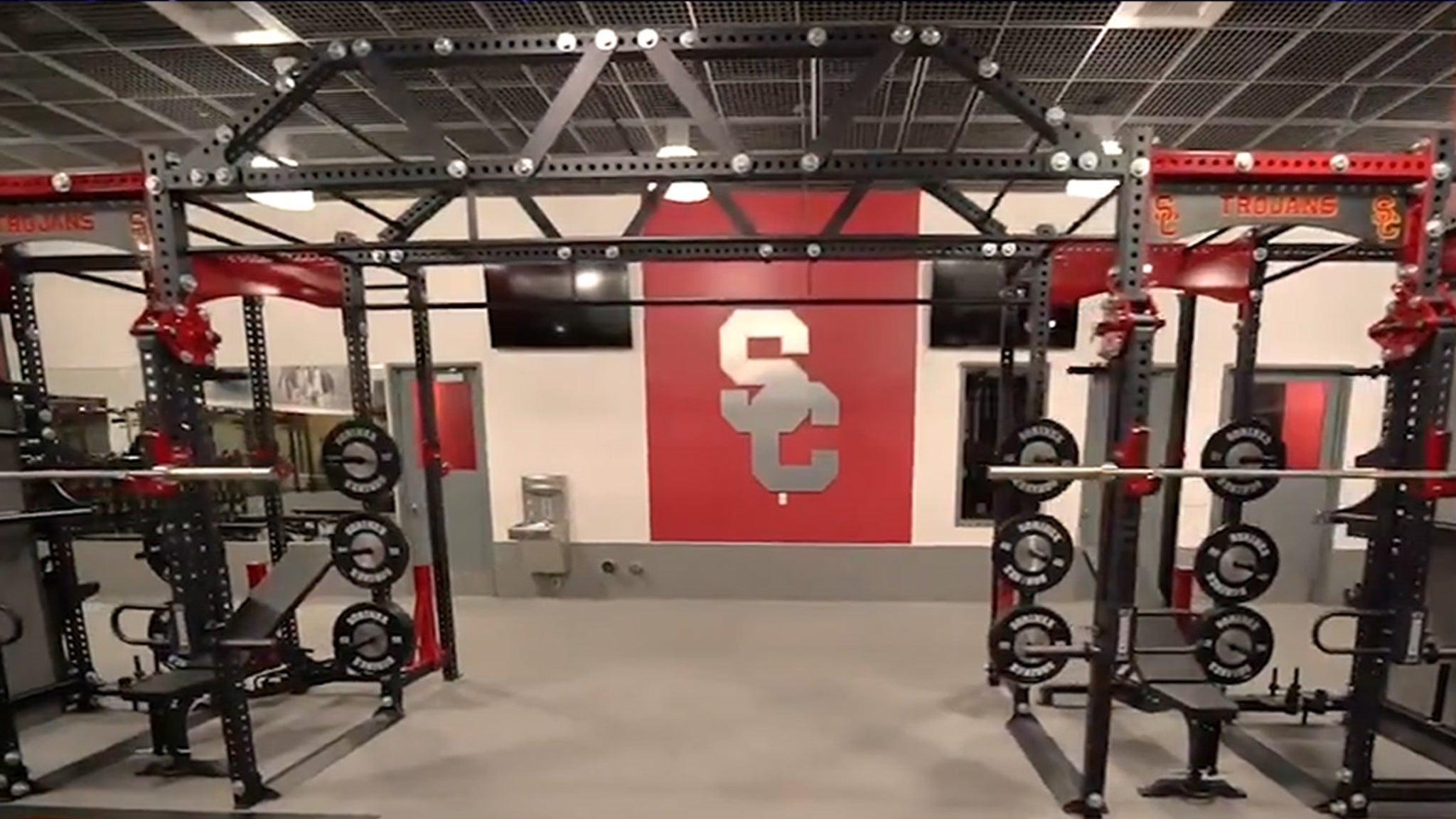 NBA's DeMar DeRozan Upgrades USC Weight Room ... With Historic Donation!!!