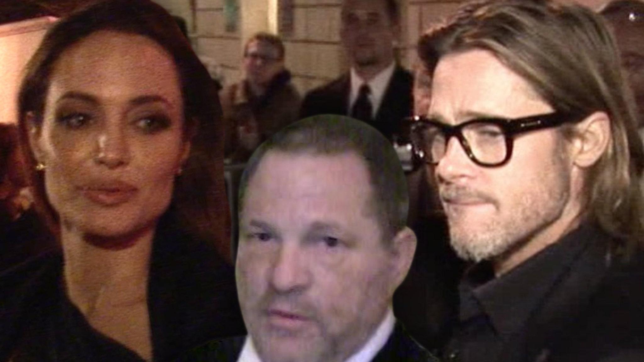 Angelina Jolie Says Brad Pitt Continuing to Work with Weinstein 'Hurt' thumbnail