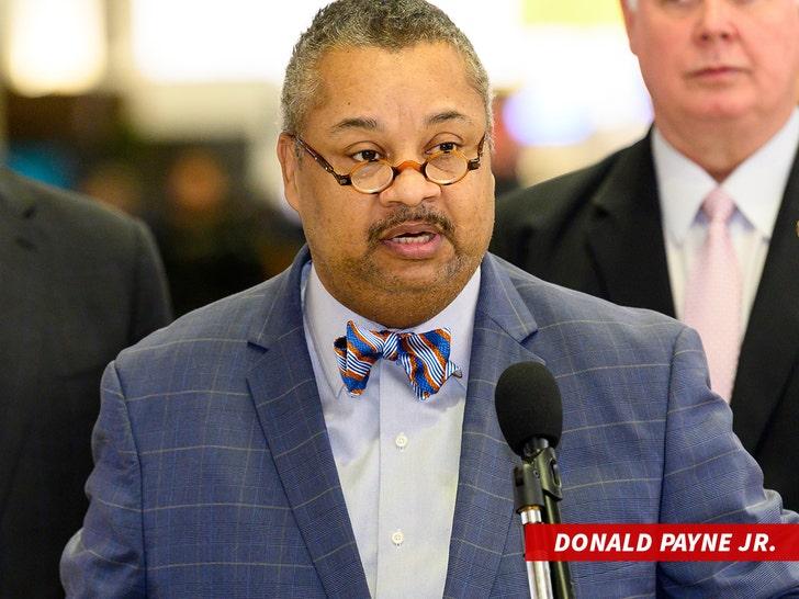 Donald Payne jr speaking at podium