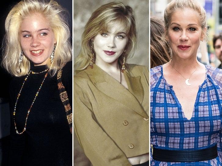 Christina Applegate Through The Years