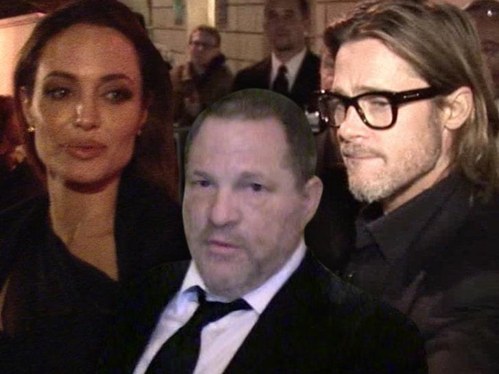 Angelina Jolie harvey weinstein brad pitt