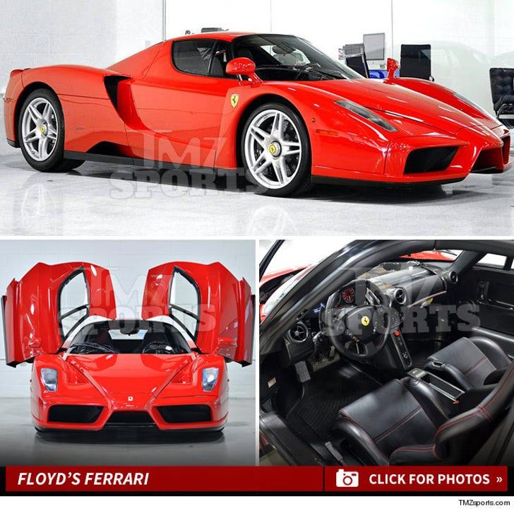 Floyd Mayweather -- Billionaire Battle Over $3.8 Mil Ferrari
