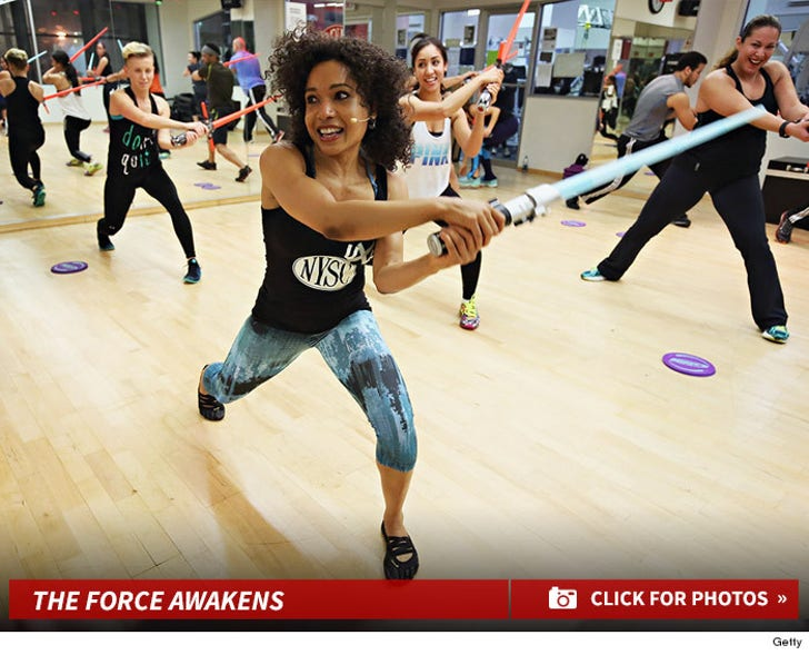 Get Fit! -- 'Star Wars' Inspired Workouts!