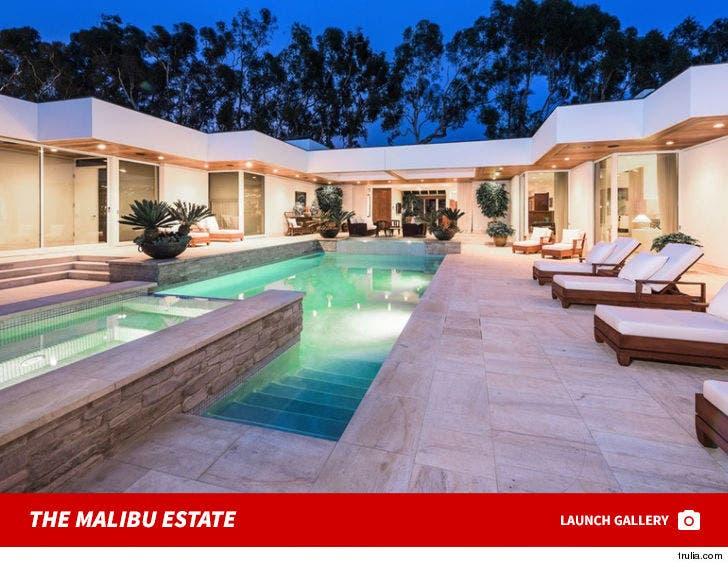 Simon Cowell's Malibu Estate