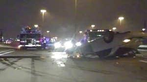 Dallas Cowboys Tragedy -- Horrific Crash Scene Photo