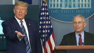 Trump Muzzles Dr. Fauci and Peddles Unproven Coronavirus Drug