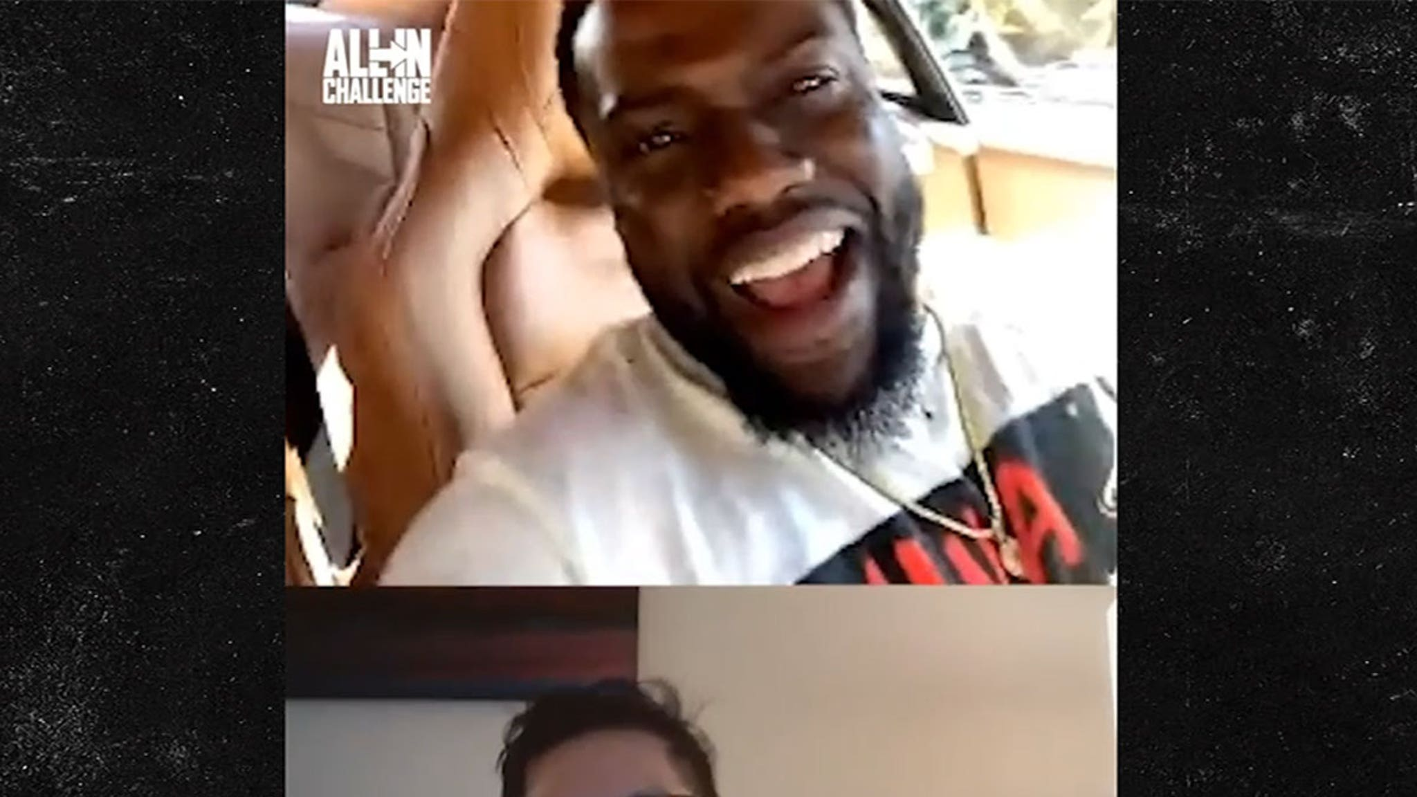 Kevin Hart Surprises All In Challenge Winner, 'You're Gonna Be a Star!!!'