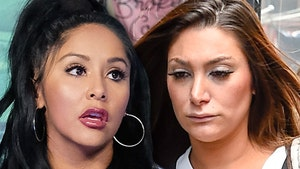 'Jersey Shore' Snooki and Deena Sued by The Meatball Shop Over Merch