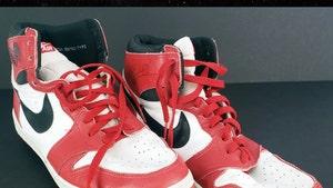 Michael Jordan's Game Worn AJ 1's Sell For $529K, MJ Used Shoes To Recruit H.S. Hooper