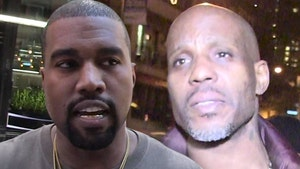 Kanye Raises $1 Million for DMX's Family from Balenciaga Shirt Profits