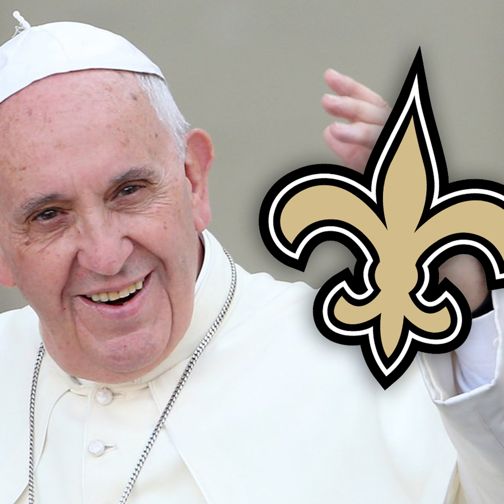 Pope Francis Accidentally Tweets Support to New Orleans Saints