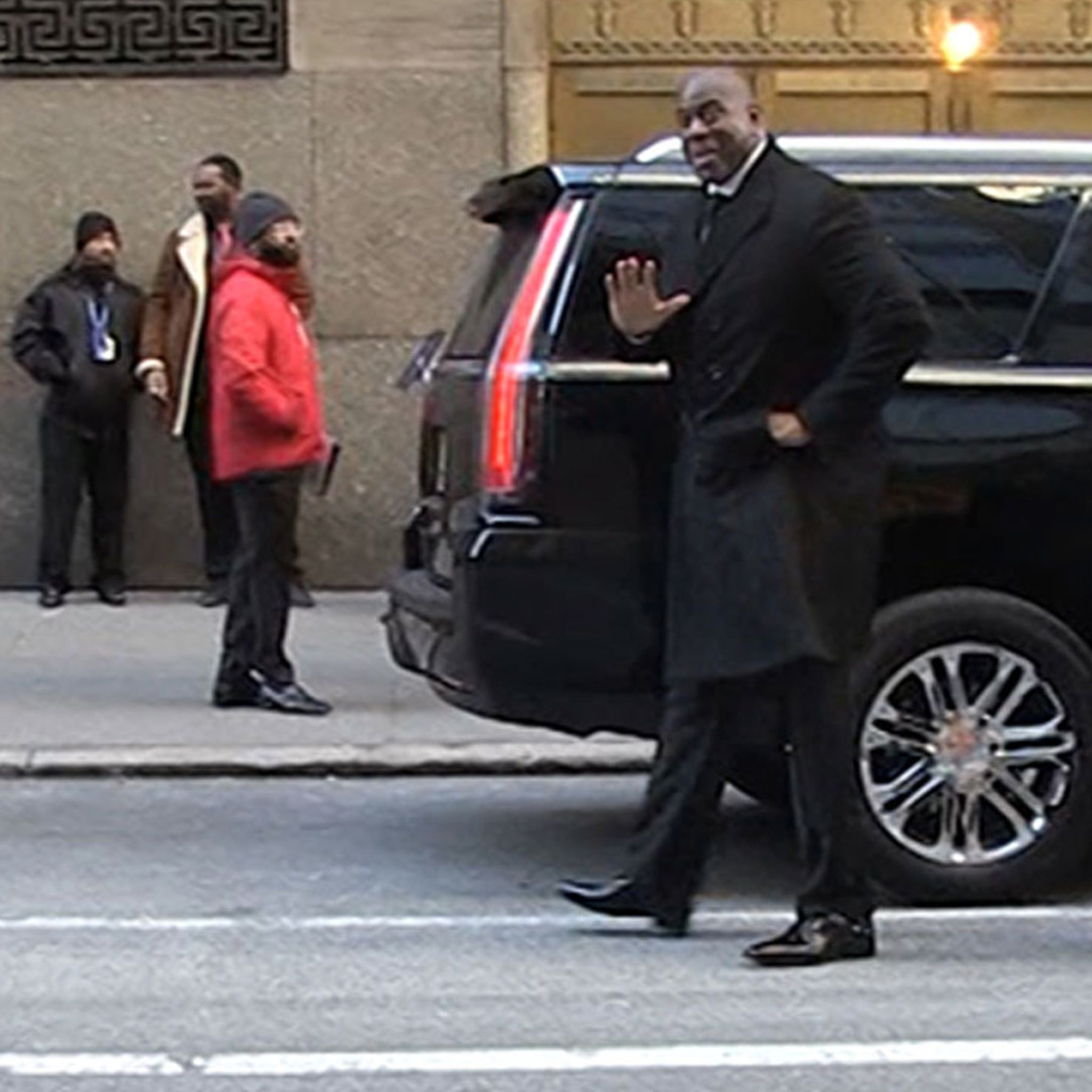 Magic Johnson Gets Emotional at David Stern Memorial, 'I'll Miss My Angel'