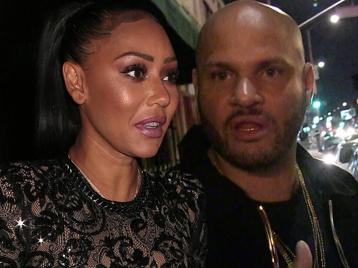 Mel B 'banned from bringing daughter to the UK'