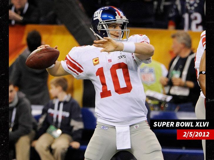Super Bowl XLVI eli manning