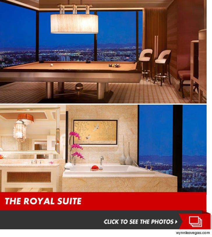 Prince Harry's Las Vegas Suite