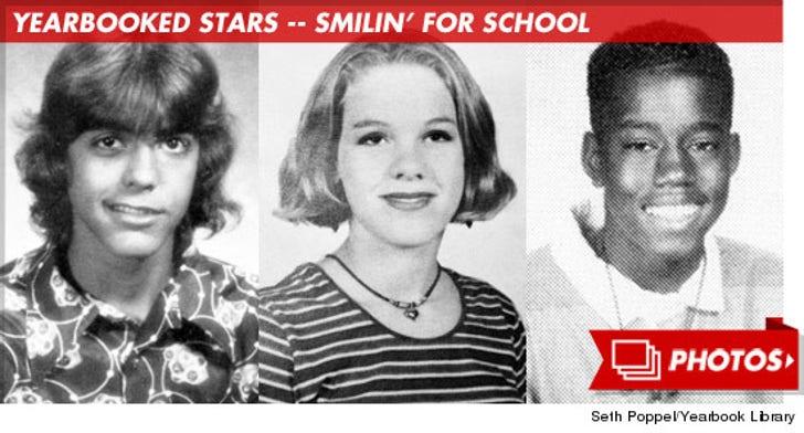 Celebrity Yearbook Photos -- Smilin' For School!