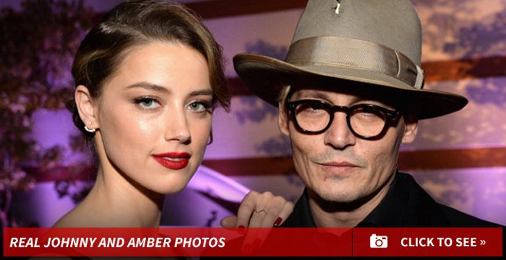 Johnny Depp and Amber Heard Photos