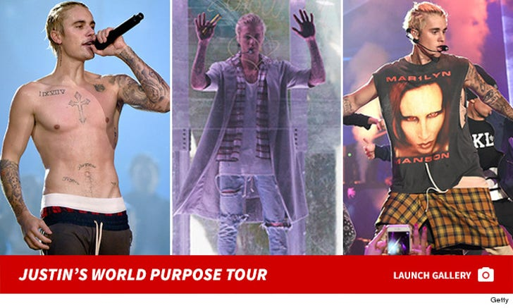 Justin Bieber - Purpose World Tour - Opening Night