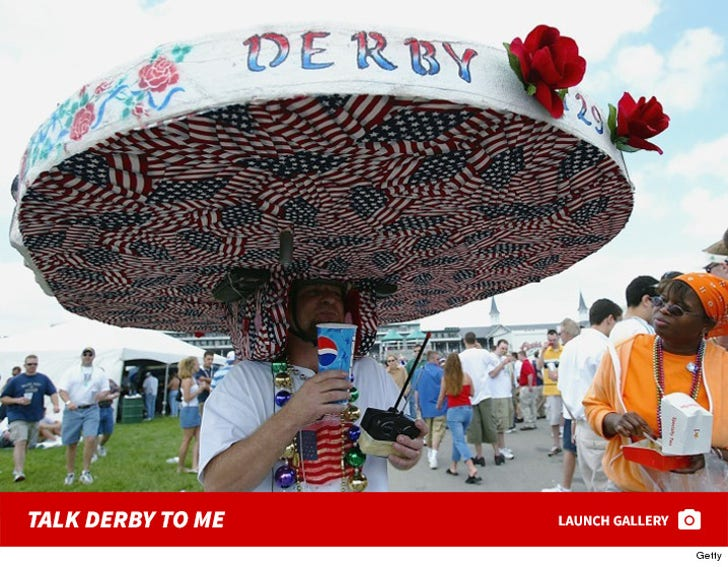 Kentucky Derby Hats -- Can't Top, Won't Top!