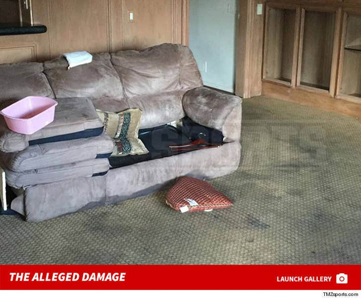 Dez Bryant -- The Alleged House Damage