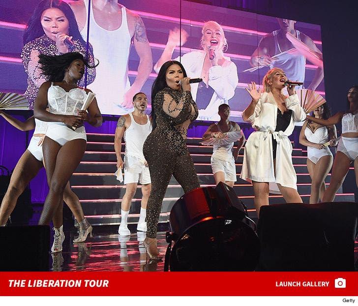 Christina Aguilera Performs at Radio City Music Hall