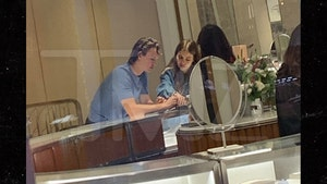 Ansel Elgort & GF Get Fitted for Globes at Tiffany & Co., No Ring Shopping