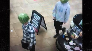 Shoplifters Wear Hollowed-Out Watermelon Masks, Cops Make Arrest