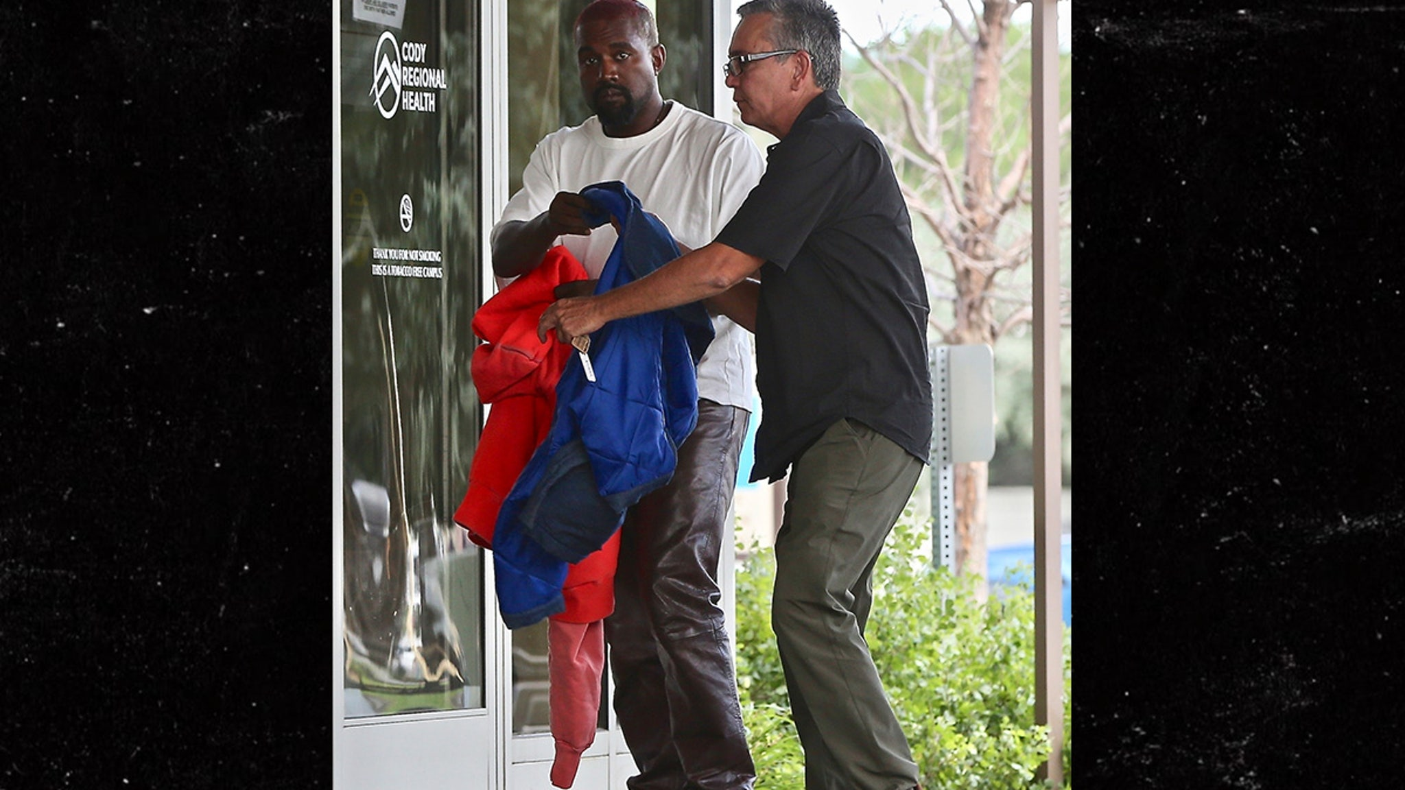 Kanye West Visits Hospital as Ambulance…