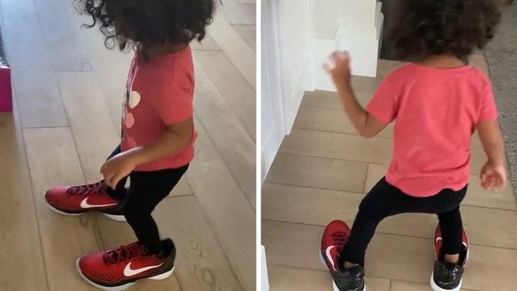 Vanessa Bryant's 1-Year-Old Capri Rocks New Kobe Nikes Weeks Before Release!.jpg