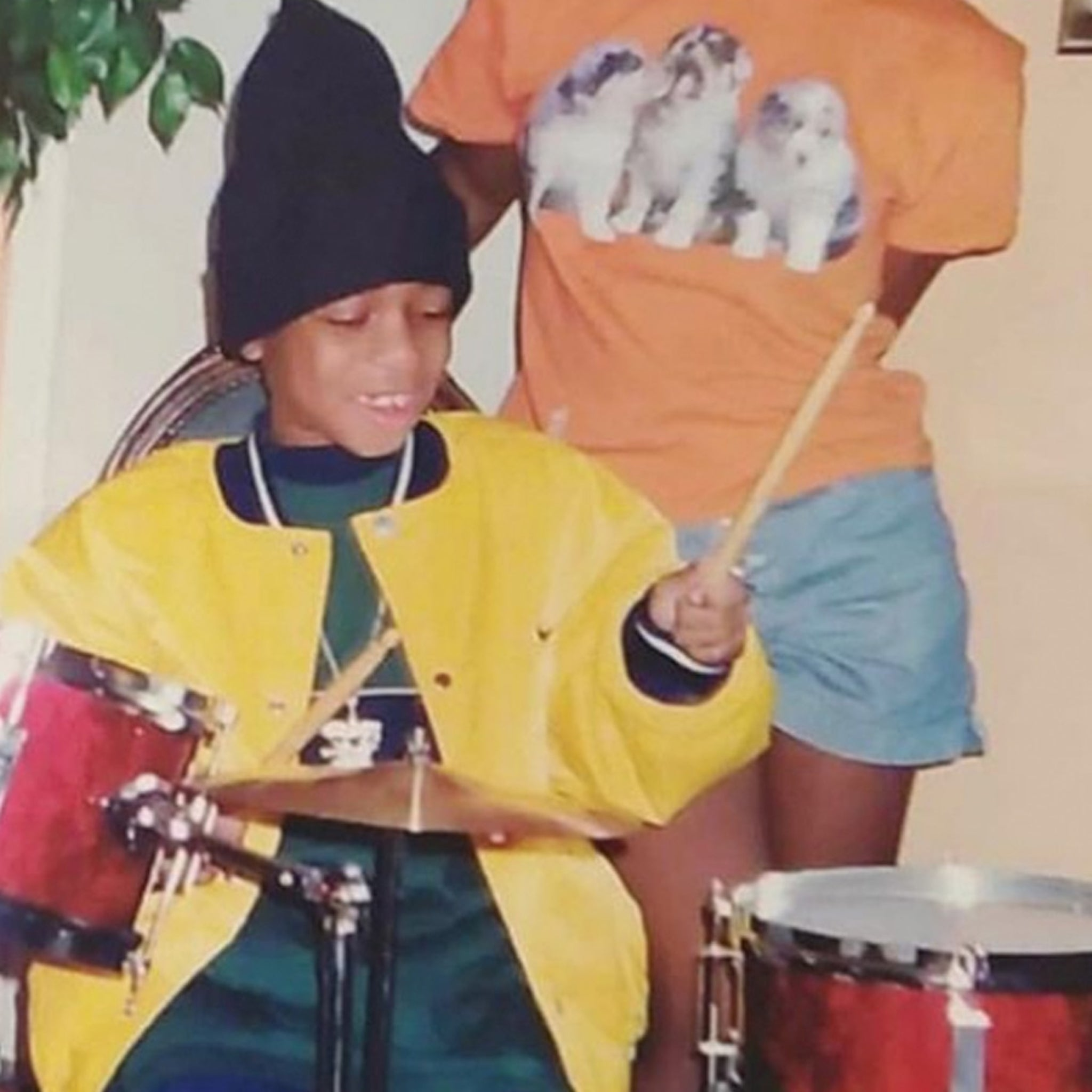 Guess Who This Drumming Dude Turned Into!
