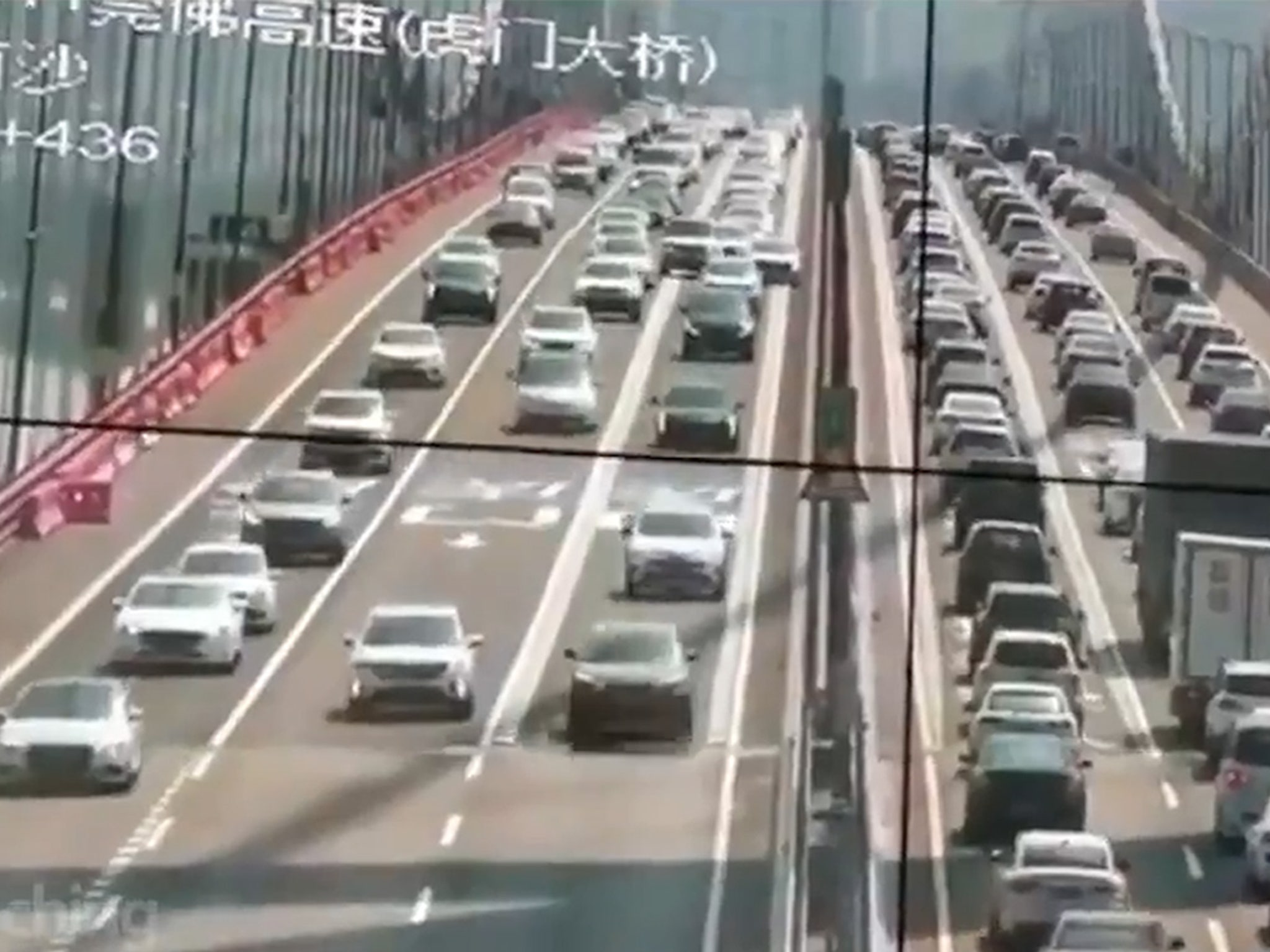 Humen Bridge in China Closed After Crazy Shaking in Strong Wind
