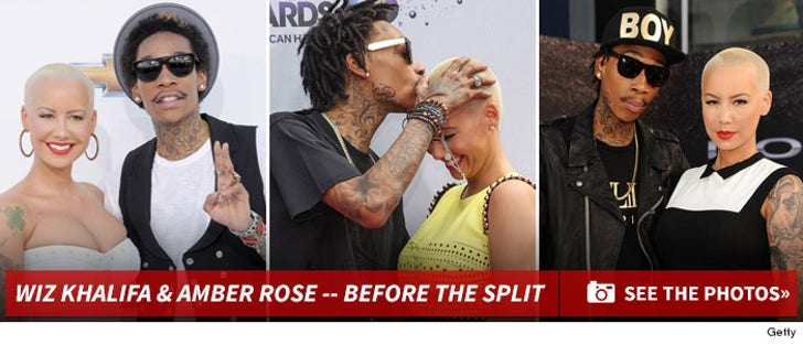 Wiz Khalifa and Amber Rose -- Before the Split