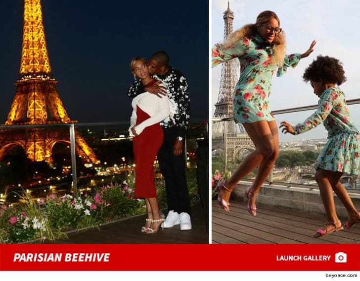 Beyonce's Awesome Parisian Hotel Pics