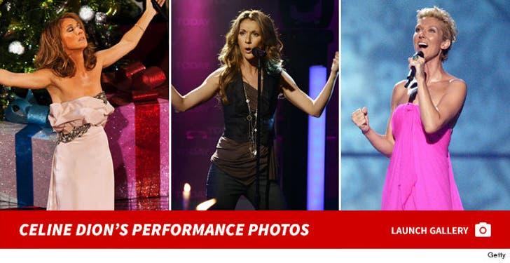 Celine Dion Performance Photos