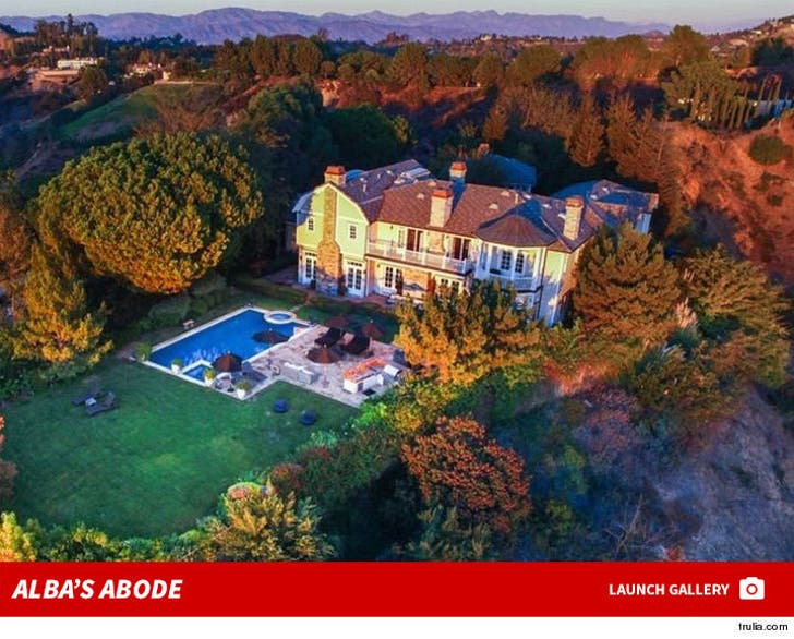 Jessica Alba My Daddy Bought Me A $10 Mil Bev Hills Pad