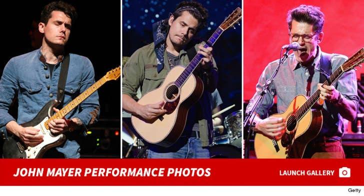 John Mayer Performance Photos