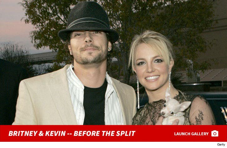 Britney Spears And Kevin Federline -- Together Photos