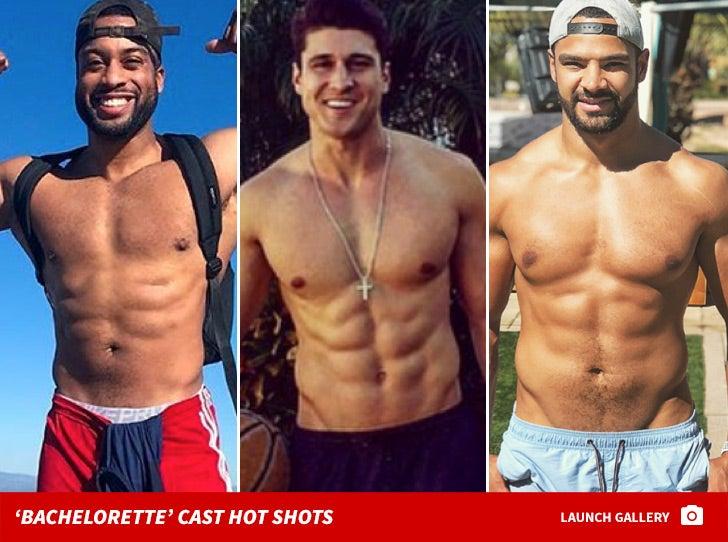 Shirtless Shots of 'The Bachelorette' Season 14 Men