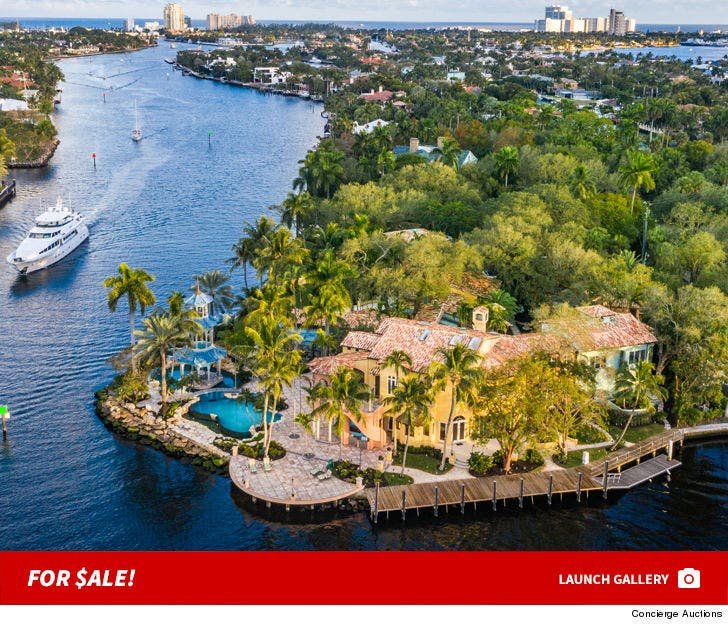 Wayne Huizenga's Florida Mansion -- Sold!