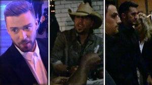 CMAs ... Justin, Jason and Luke Hit the Town