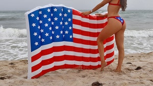 Fitness Model Jen Selter Bares Famous Ass for 4th of July Beach Day