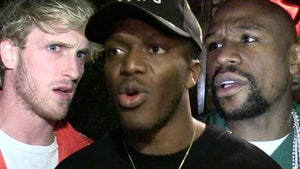 KSI Calls BS On Floyd Vs. Logan Paul Fight, 'Why Would He Fight The Loser?'