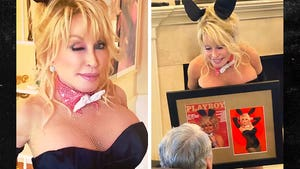 Dolly Parton Surprises Husband with Playboy Bunny Photoshoot