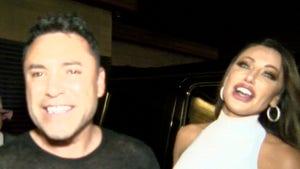 Oscar De La Hoya Hits L.A. Hotspot W/ Holly Sonders, We're Dating!