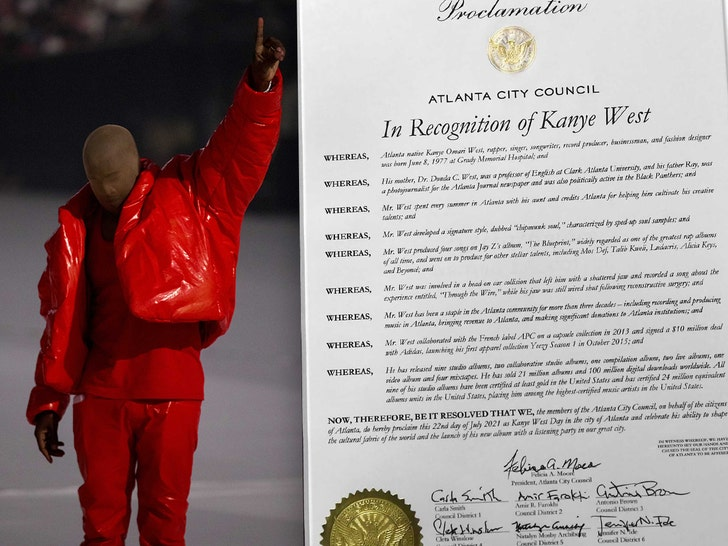 Kanye West Gets His Own Day in Atlanta, Tribute to His Mom from Morris Brown College.jpg