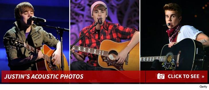 Justin Bieber And His Guitar