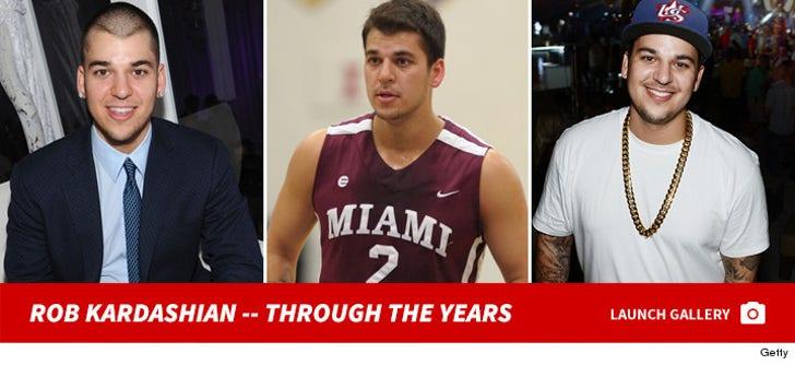 Rob Kardashian Through The Years