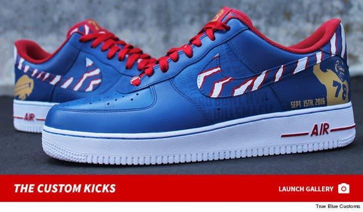 Andre Reed's Custom Kicks